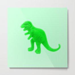 Toy Dino Metal Print