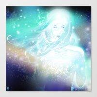 aurora Canvas Prints featuring Aurora by Stevyn Llewellyn