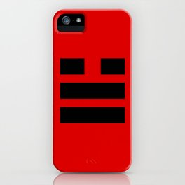 I Ching Yi jing - symbol of 兌Duì iPhone Case