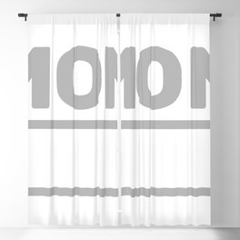 Mom Low Battery Blackout Curtain
