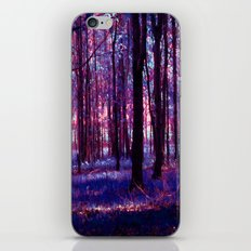 purple forest iPhone Skin