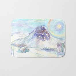Optical phenomenon - halo Bath Mat