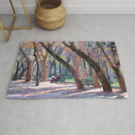 Winter in Rome, Italy — L Diane Johnson Rug