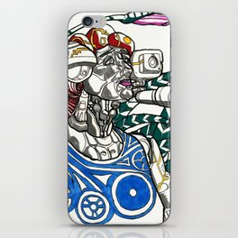 Profile Pic of Sarah Bernhardt iPhone Skin
