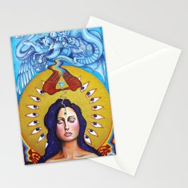 Entering The Mysteries Stationery Cards