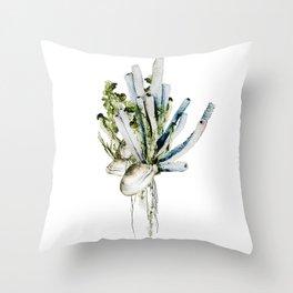 Marine Gardens Throw Pillow