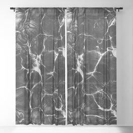 Undefined Abstract #6 #decor #art #society6 Sheer Curtain