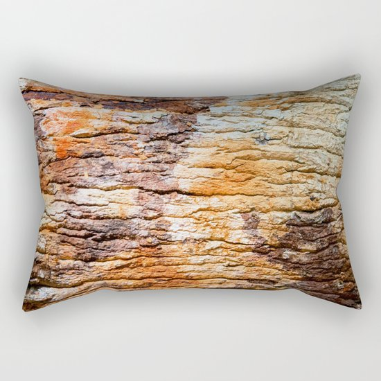 NATURAL WOOD ART Rectangular Pillow
