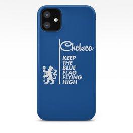 Slogan: Chelsea iPhone Case