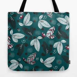 graphically leaves Tote Bag