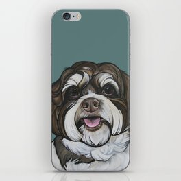 Wallace the Havanese iPhone Skin