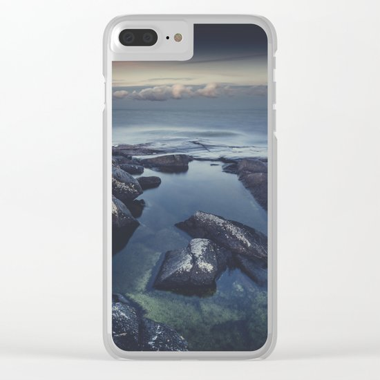 As we fade away Clear iPhone Case