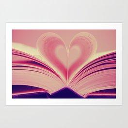 Love, Reading Art Print