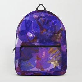 Deep Purple Violets Backpack