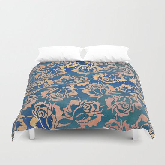 Rose pattern Duvet Cover