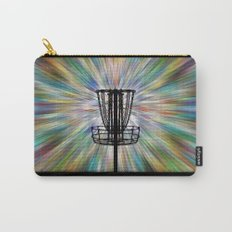 Disc Golf Basket Silhouette Carry-All Pouch