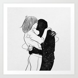 No one could save me but you. Art Print