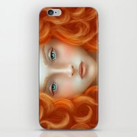 rebel iPhone & iPod Skins featuring Rebel by Alexia Rose