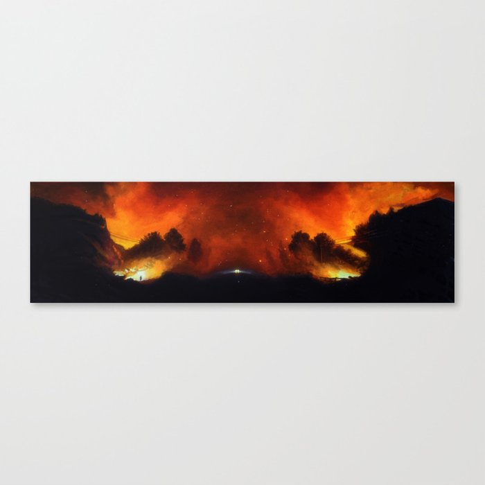 Firestarter Canvas Print