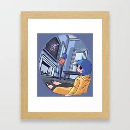 little me Framed Art Print