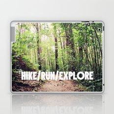 HIKE/RUN/EXPLORE Laptop & iPad Skin