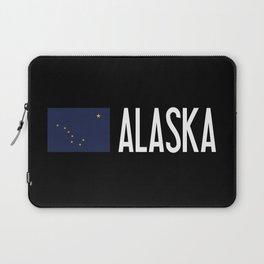 Alaska: Alaskan Flag & Alaska Laptop Sleeve
