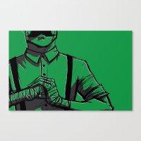 smash bros Canvas Prints featuring Smash. by Whittico