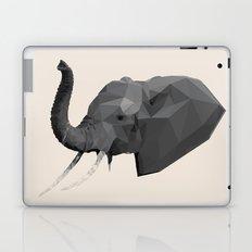 Low Poly Geometric Elephant Laptop & iPad Skin