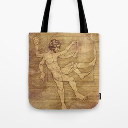 Vitruvian Man 2.0 Tote Bag