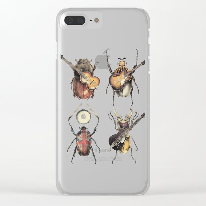 Meet the Beetles Clear iPhone Case
