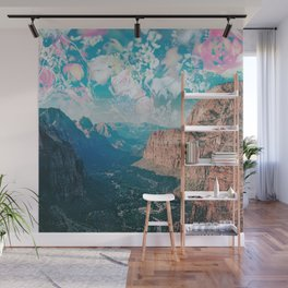 Zion Flowers Wall Mural