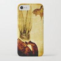 bat man iPhone & iPod Cases featuring Bat-Man by Ganech joe