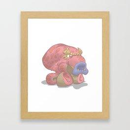 Oktorok Framed Art Print