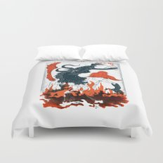 A Jersey Devil Haunting Duvet Cover