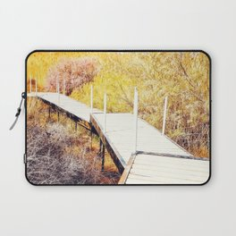 Stepping Down To The Golden World - From 'King Midas series' Laptop Sleeve