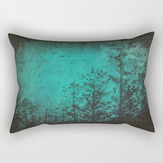 Faded Souls Rectangular Pillow