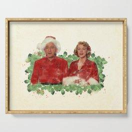 Bob & Betty (White Christmas) Serving Tray