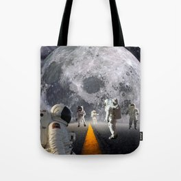 The Lost Astronauts Tote Bag