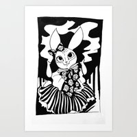 VoodoRabbit  Art Print