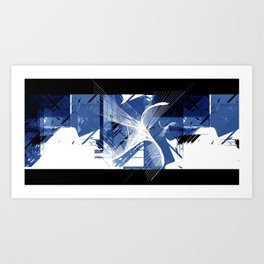Digital Nation Art Print