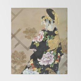 Haruyo Morita - Echigo Dojouji Throw Blanket