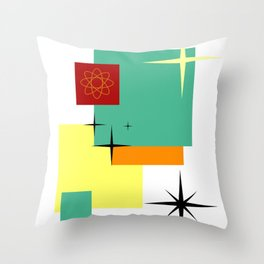 All My Squares Throw Pillow