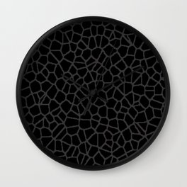 staklo (black with dark olive) Wall Clock
