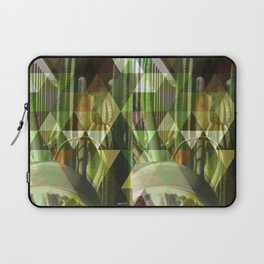 Cactus Garden Art Triangles 1 Laptop Sleeve