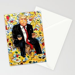 Trump Portrait Stationery Cards