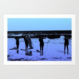 Hang Ten Art Print