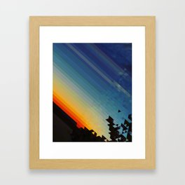 Pxl Framed Art Print