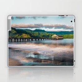 Hanalei Pier Kauai Hawaii  Laptop & iPad Skin