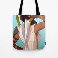 booty Tote Bags featuring Booty by MJ Erickson