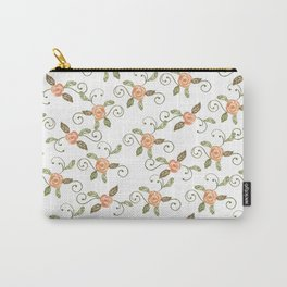 rose vine Carry-All Pouch